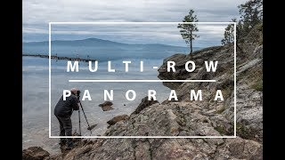 How to shoot a Multi Row Panorama! Part 1 of 2