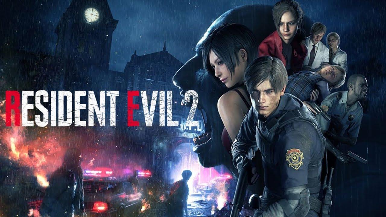 PS4 惡靈古堡 2 重製版(生化危機2 重製版)(Resident Evil 2)里昂篇A路線中文劇情攻略(1周目路線) - YouTube