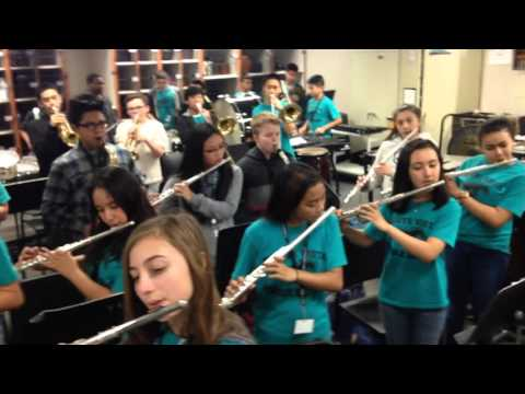 Monte Vista Middle School Band Uptown Funk