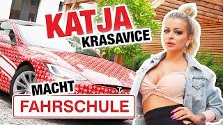 Katja Krasavice macht Führerschein?? 😳 + FANTREFFEN | Fischer Academy