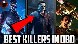 """Dead By Daylight """"Top 3 Killers In The Game!"""" - DBDL The Best Killers To Play As! (DBDL Tutorial)"""