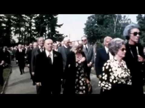 Otto Skorzeny Funeral And Buring His Ashes 1975