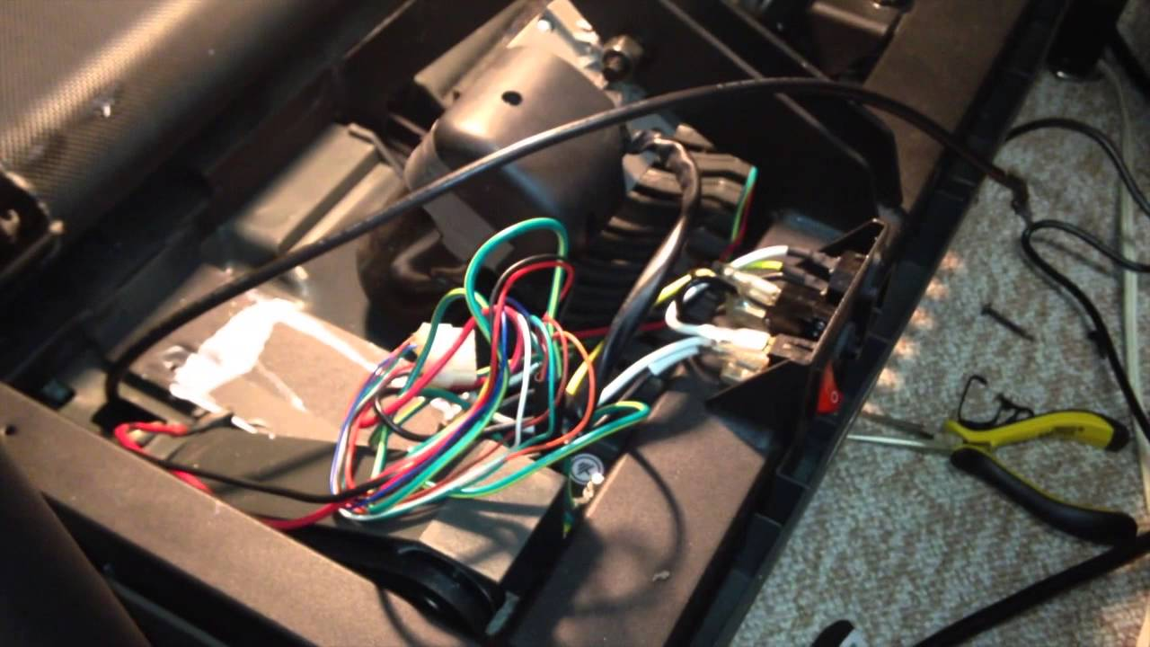 Motor Control Board Amp Upper Board Console Replacement