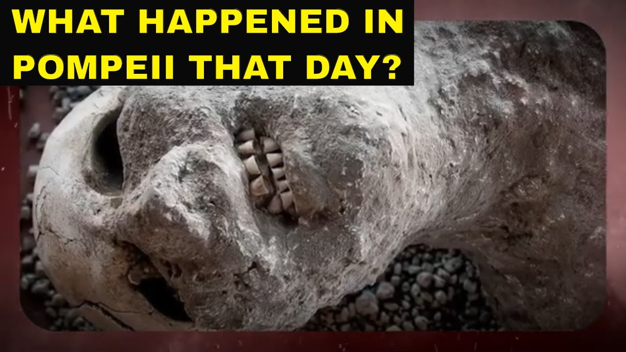 The 79 AD Pompeii Volcano Eruption | Destruction on the Last Day of Pompeii | Lost City of Pompeii