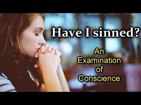 An Examination of Conscience / Ten Commandments