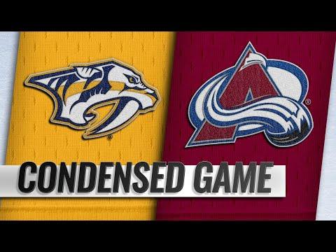 01/21/19 Condensed Game: Predators @ Avalanche
