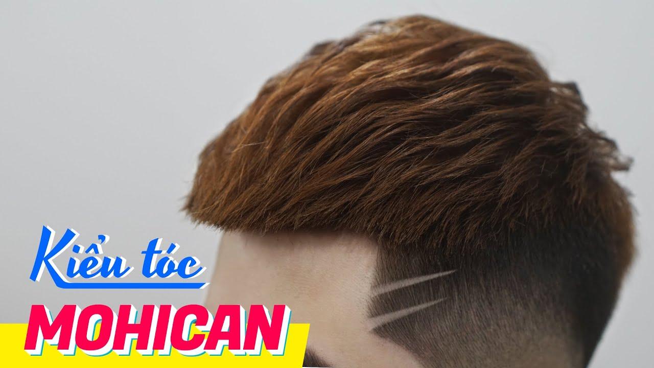 Kiểu tóc Mohican – Kiểu tóc nam đẹp 2020 – Chính Barber