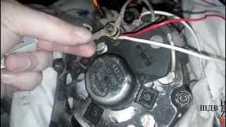 Конденсатор автомобильного генератора, где и зачем он нужен.