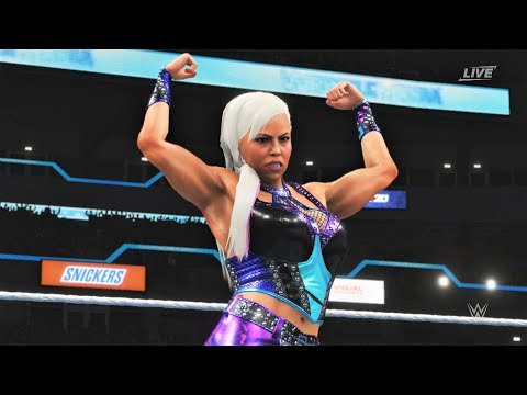 WWE 2K20 - Dana Brooke vs Sarah Logan.
