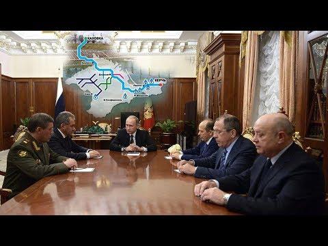 Подача воды в Крым: В Кремле напряглись, хотят успеть до апреля.