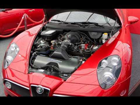 Alfa Romeo c8 Competizione (auto's) - YouTube