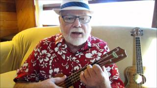 "BY THE BEAUTIFUL SEA - 1914 - UKULELE TUTORIAL by ""UKULELE MIKE"" LYNCH"