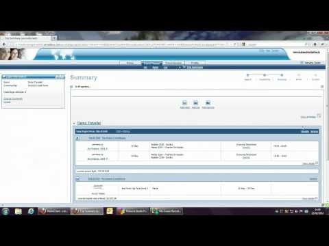 Online Business Travel Management