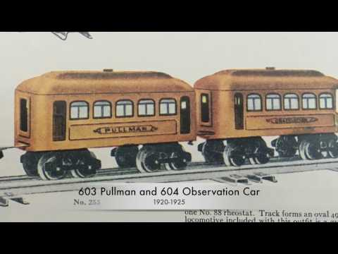Classic Lionel Trains - Early Series Passenger Cars 1915-1925