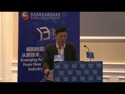 "[2013 Shanghai Forum] REN Dongming ""The Key Policy to the Development of China's Renewable Energy"""