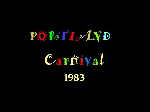 Portland Carnival 1983. Stella, Carnival Queen,  Marnie, her Attendant