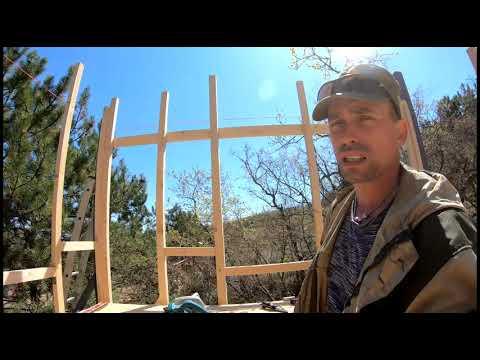 Выживание с Комфортом / Продолжение строительства дома в горах