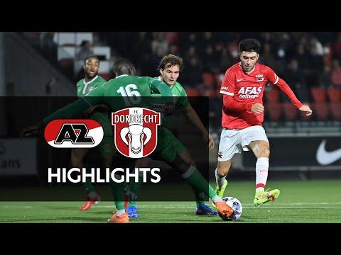Jong AZ Dordrecht Goals And Highlights