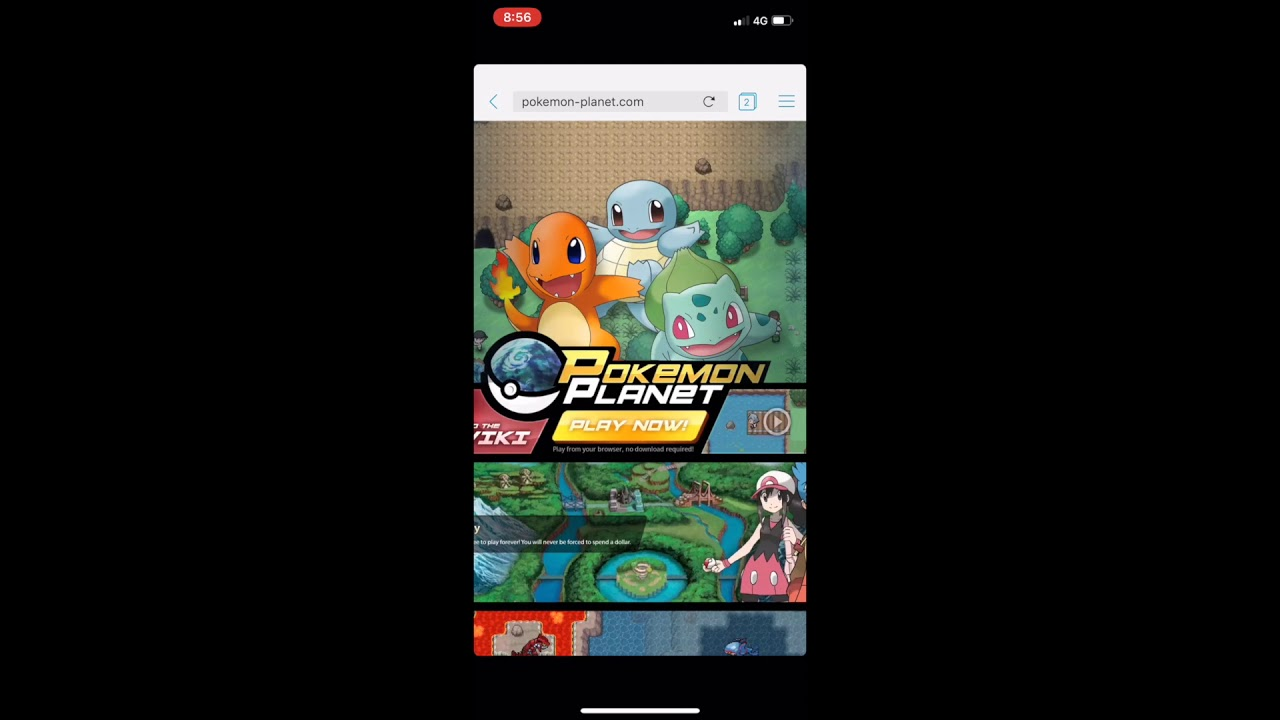 planet pokemon mmorpg download