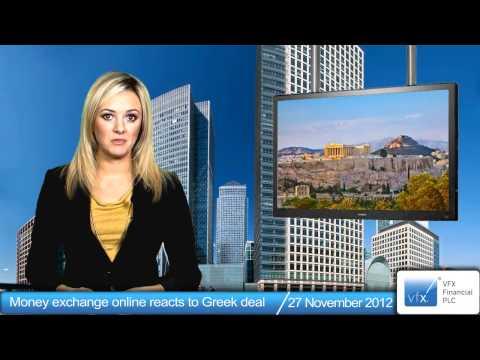 Money exchange online reacts to Greek deal