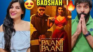 Badshah - Paani Paani   Jacqueline Fernandez   Aastha Gill   Official Music Video   Badshah Reaction