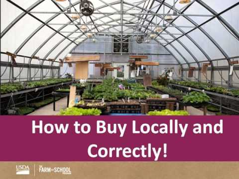 Planning for Farm to School Success - Finding and Buying Local Foods