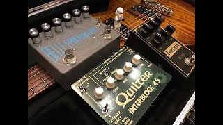 Quilter InterBlock 45 - Playing with Pedals