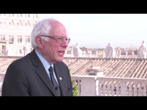 On the Road: Vatican City | Bernie Sanders