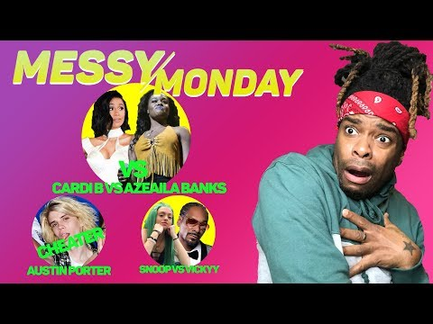 DRAMA ALERT ! ! ! PRETTYMUCH DRAMA, Carmen & Corey vs Nique & King |MessyMonday