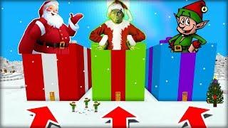 NEVYBER SI ŠPATNÝ DÁREK V MINECRAFTU! (Santa, Grinč, Elf)