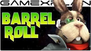 Peppy Becomes Self-Aware - BARREL ROLL in Star Fox Zero (Easter Egg)