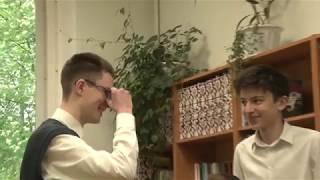Урок русской литературы в Знаменской гимназии