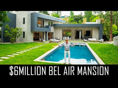 $6MILLION BEL AIR MANSION TOUR!!
