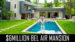 $6MILLION BEL AIR MANSION TOUR!!