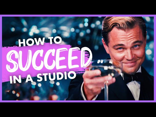 How to Succeed in a Studio as 3D Artist