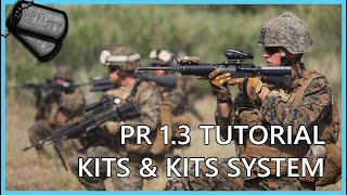 Project Reality 1.3 ►HOW TO PLAY|Kits and Kit System (FULL HD)