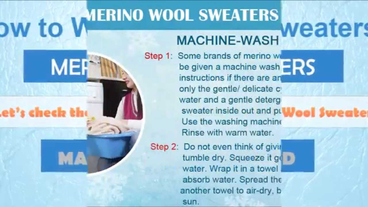 How to dry a wool sweater| the woolmark company.