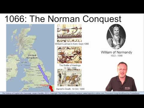 HIS110 - The History of English - An Overview