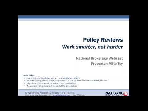 Policy Reviews - Work smarter, not harder!