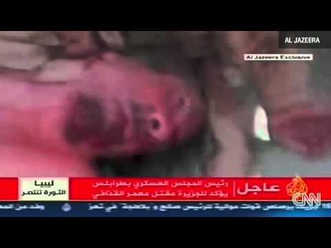 Libyan leader Moammar Gadhafi has been killed