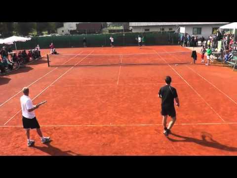 Tennis Exhibition UTC Hofstetten- Grünau 28.9.2013 Teil 1