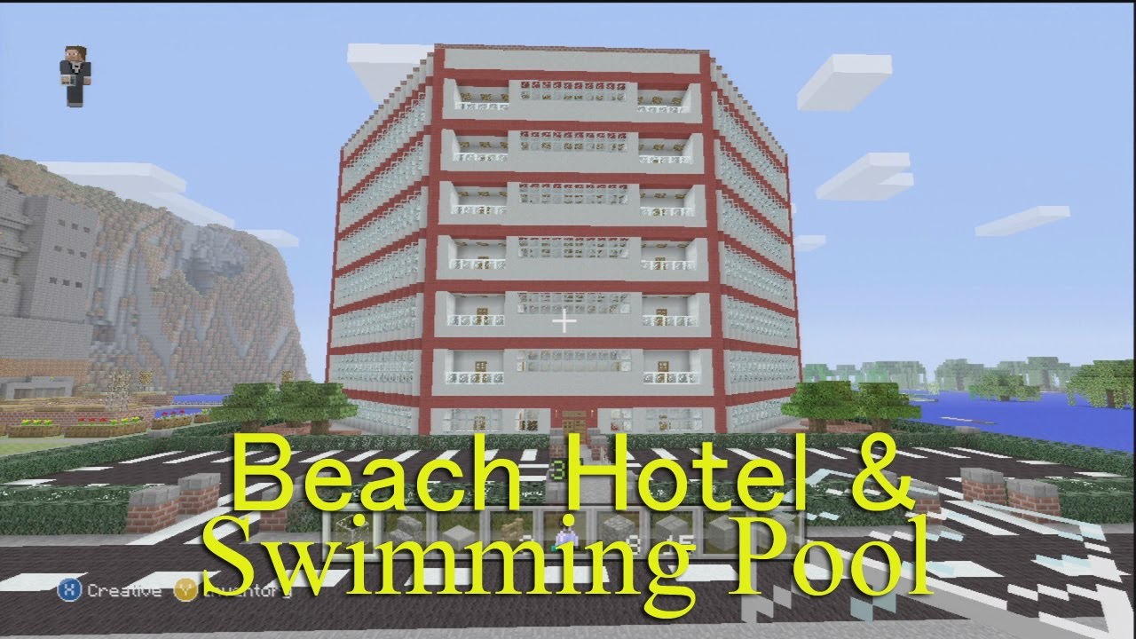 Minecraft Xbox Beach Hotel And Swimming Pool