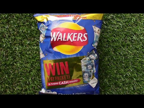 Walkers Crisps Instant Prize RETURNS My Reaction
