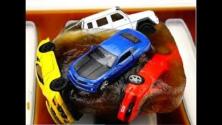 Freeze and Unfreeze toys cars Coca Cola and Fanta.