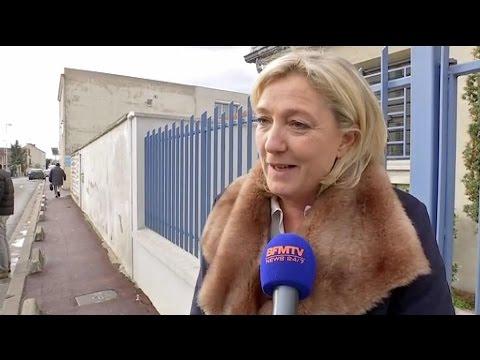 """Marine Le Pen: Le Doubs """"démontre la grande dynamique du FN"""""""