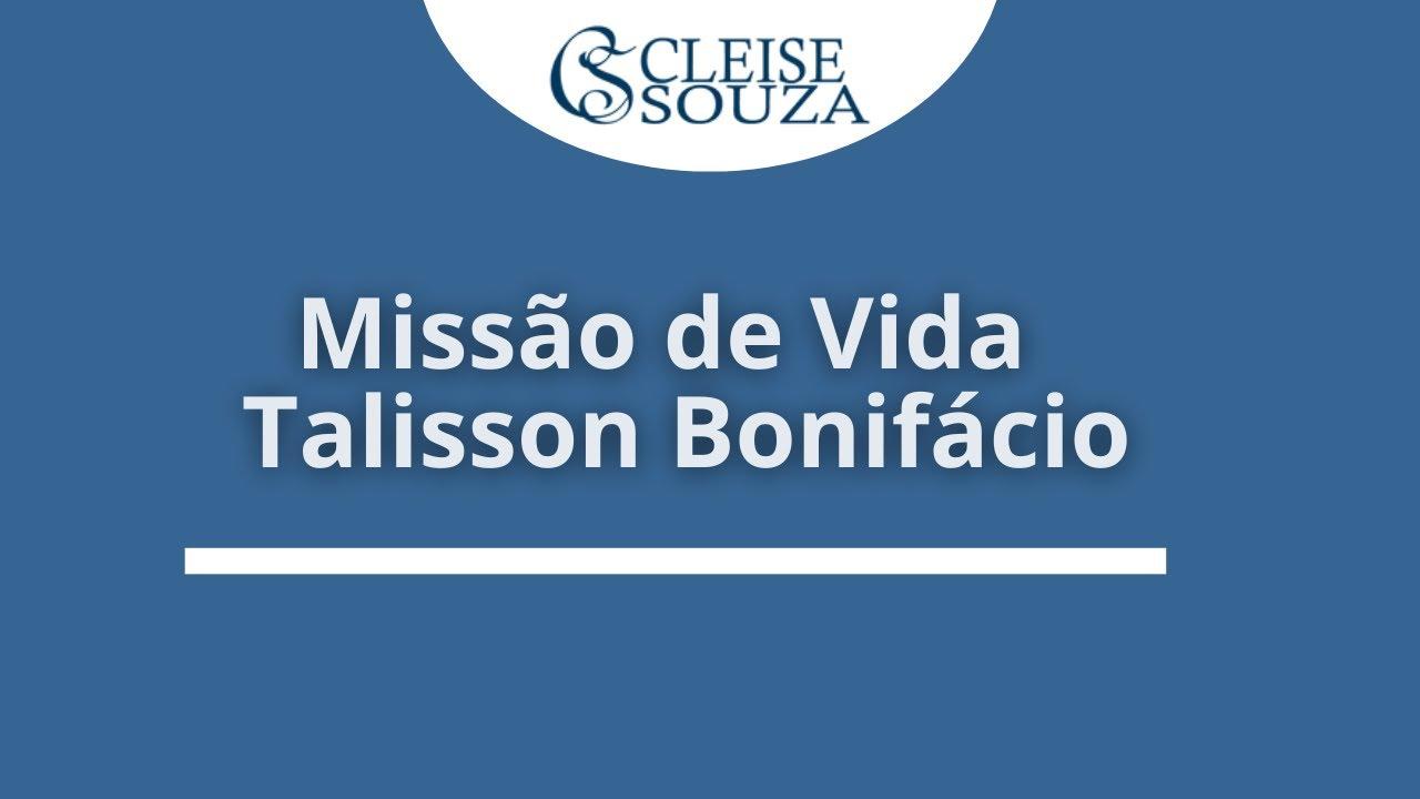 Missão de Vida do Talyson Bonifácio
