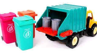 Garbage Truck Surprise Toys for Children