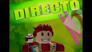 🔴 DIRECT 😎 PLAYING ROBLOX #TEAMGAMERS //Road 415 😃🔴