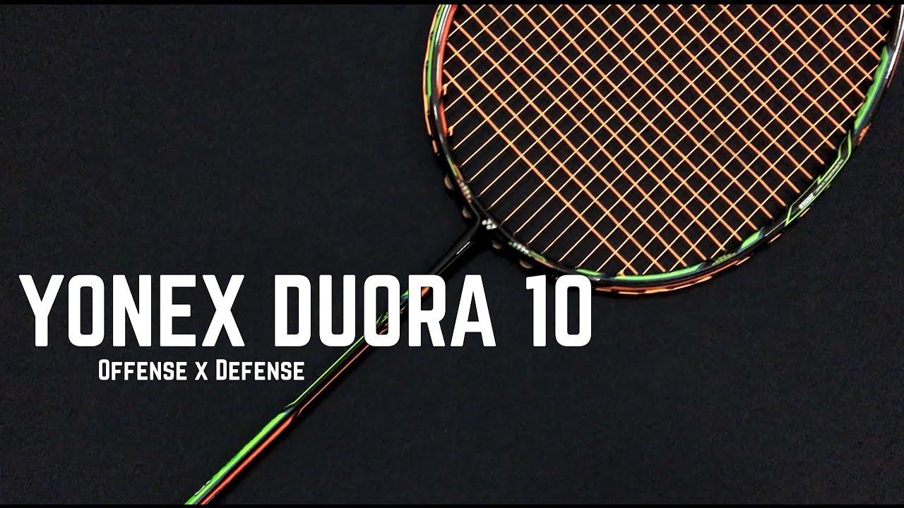 Yonex Duora 10 Badminton Racket Lee Chong Wei Youtube