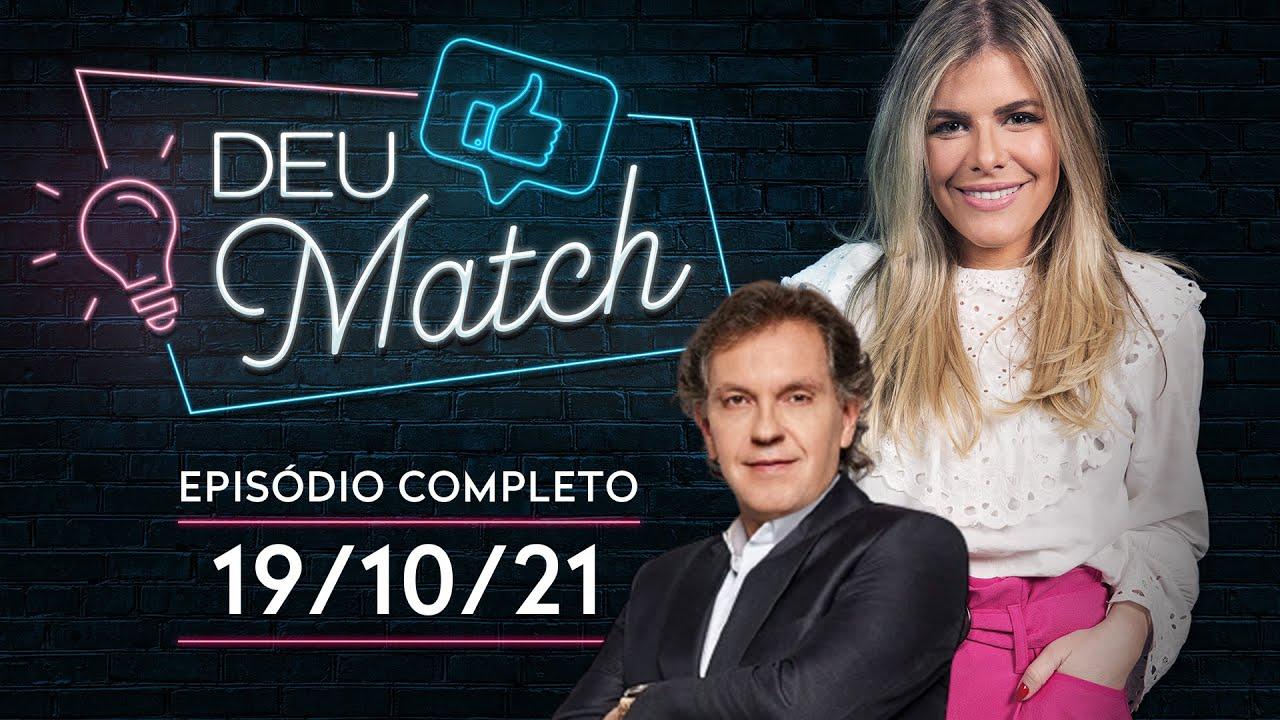 ENTREVISTA COM JOÃO APPOLINÁRIO - DEU MATCH - 19/10/21